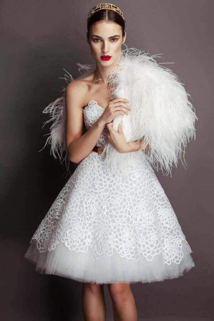 abito da sposa corto 3