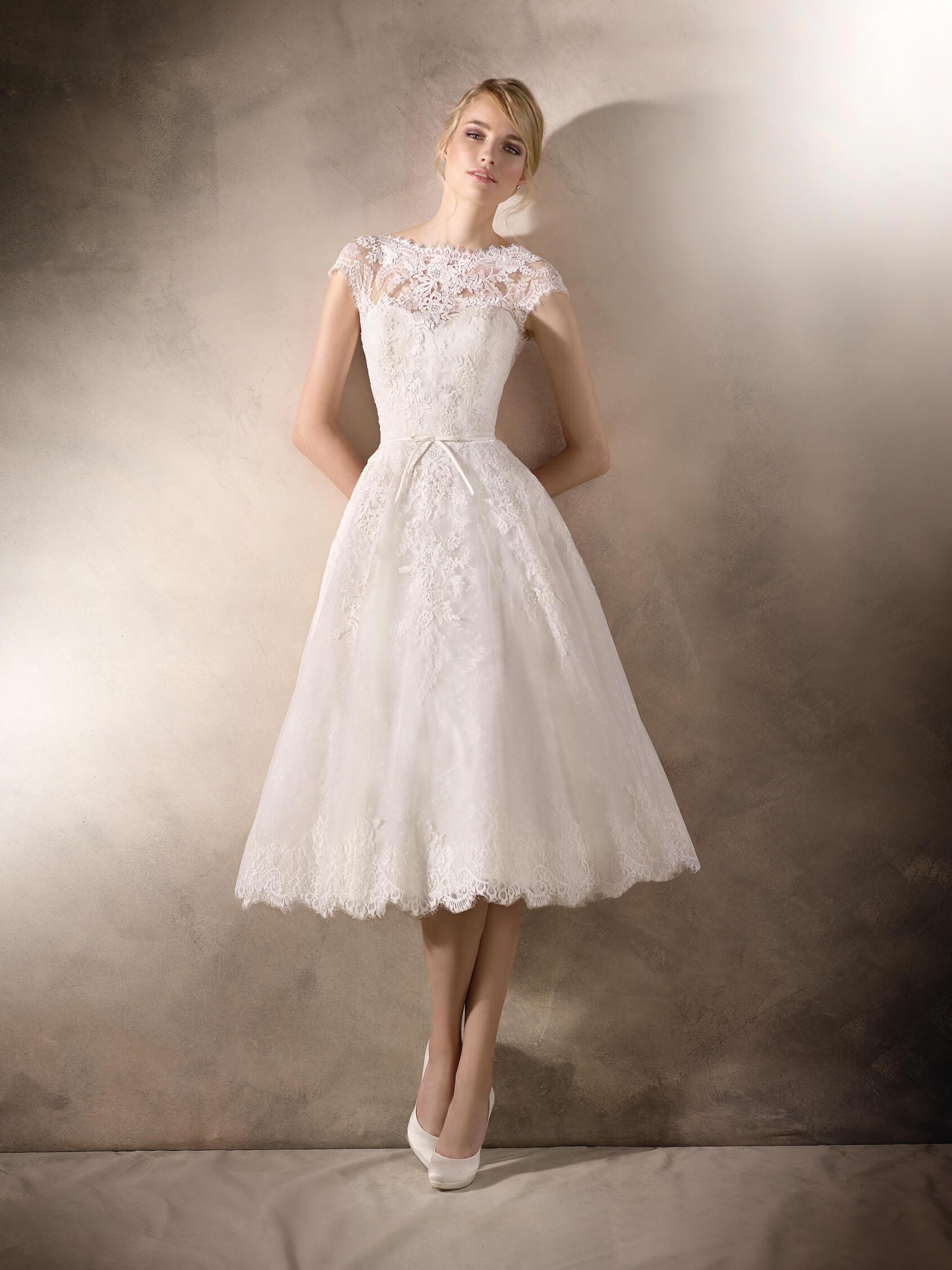 abito da sposa corto 2